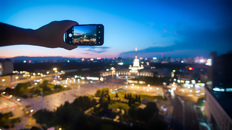Foto panorama con smartphone