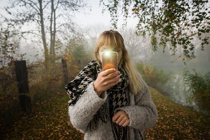 Foto fantastiche con flash da smartphone
